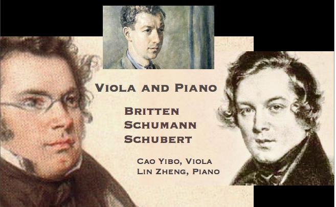 Bob's Music Blog: January 2017 Chamber Music Concert – Britten, Schumann & Schubert