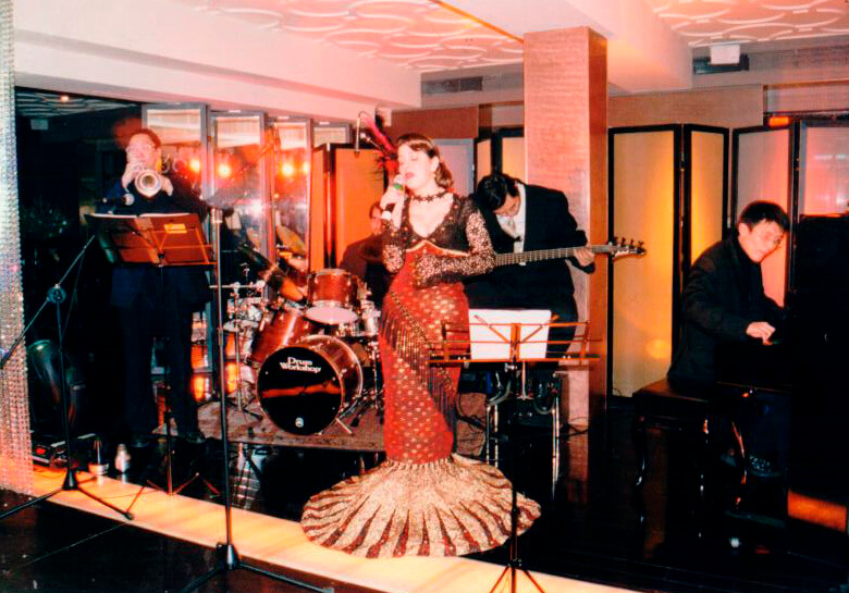 3rd Anniversary Party in 2002