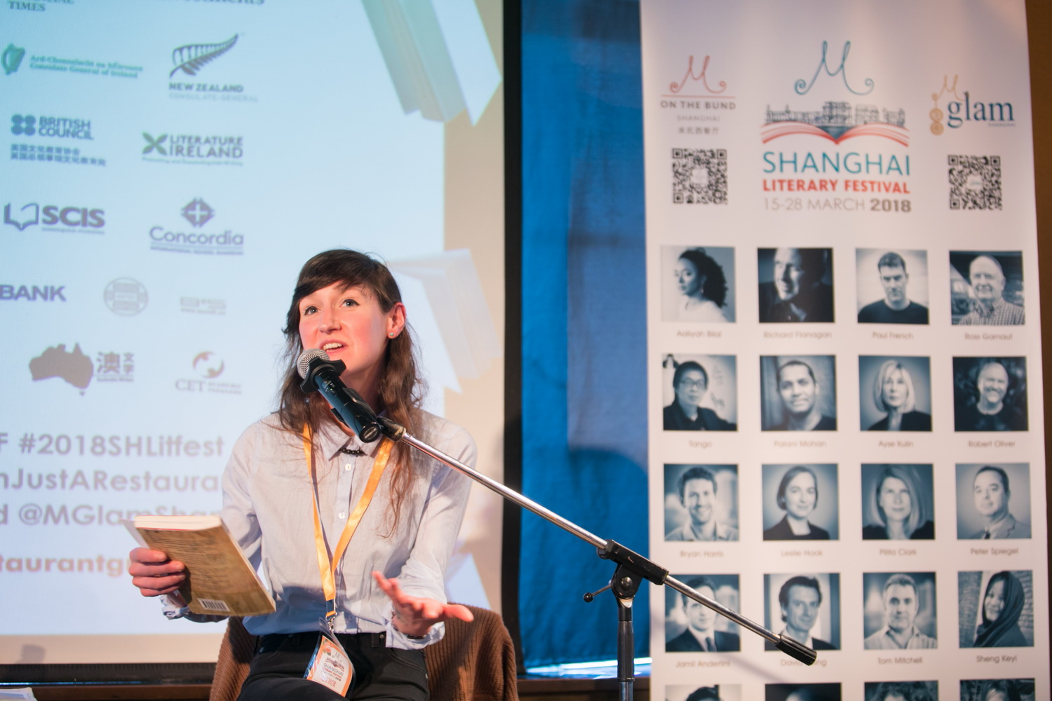 Sara Baume on A Line Made by Walking | 2018 Litfest Podcast