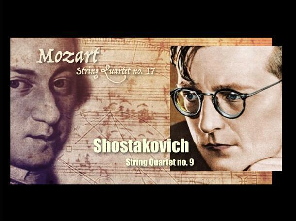 Appreciating the String Quartet: Two Masterpieces by Mozart and Shostakovich