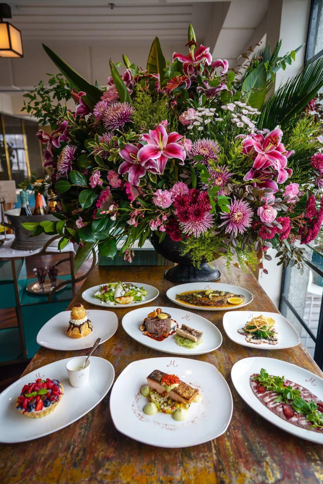 米氏西餐厅晚餐菜单更新 NEW DINNER DISHES AT M
