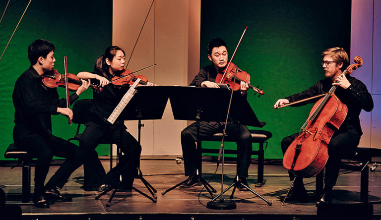 Bob's Music Blog: Simply Quartet Returns to M on the Bund!