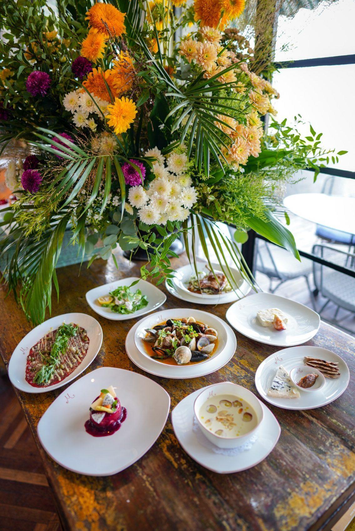 米氏西餐厅八月午餐菜单更新 M'S NEW LUNCH MENU